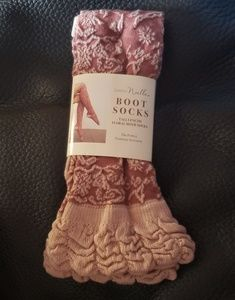 Simply Noelle Boot Socks One Size Fits All